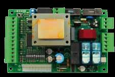AUTUN1R - Centralina di comando 230Vac con ricevente 433.92 Mhz per automazioni ad anta scorrevole e basculanti