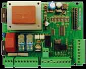 AUTUN2R - Centralina di comando 230Vac con ricevente 433.92 Mhz per automazioni ad anta battete, scorrevoli e basculanti