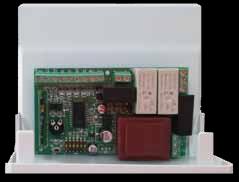 TTS2F - Centralina di comando 230Vac per tende, tapparelle e serrande