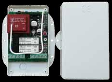 TTS1L - Apparecchiatura 230Vac per il comando di due gruppi luci separate