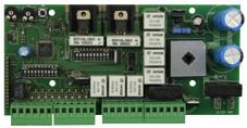 AUTUN4- Centralina di comando 230Vac - scheda elettronica per automazioni ad anta battente, scorrevole e basculanti