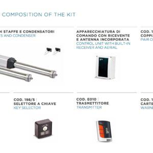 KIT PHV 240– Attuatore Oleodinamico Lineare 230V