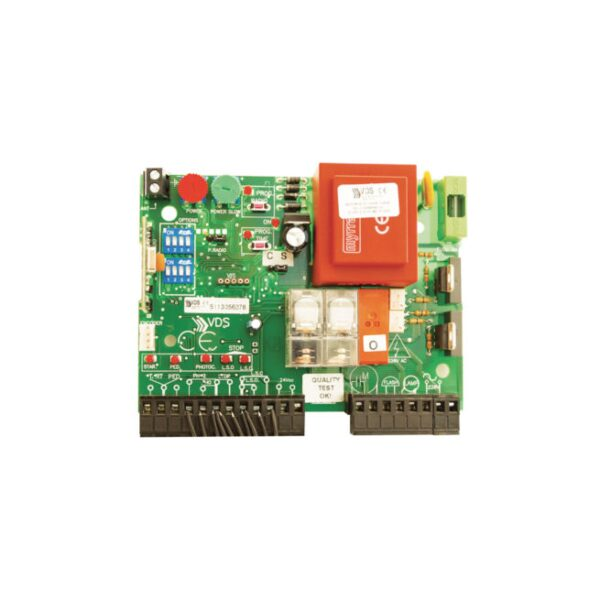 SIMPLY – Motoriduttore 230V con apparecchiatura di comando e ricevente 433 mhz