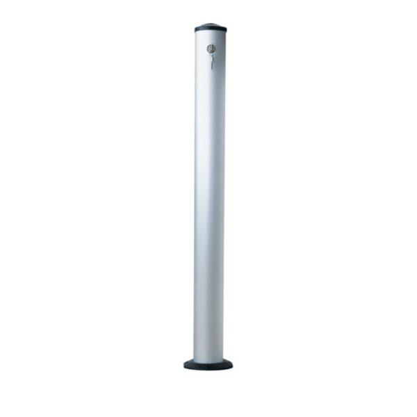 Colonnina alluminio per fotocellule con selettore - 100cm