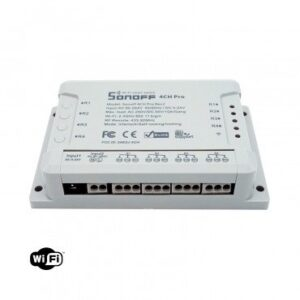 Interruttore Wi-Fi Quadruplo Commutatore SONOFF 4CH R2 PRO