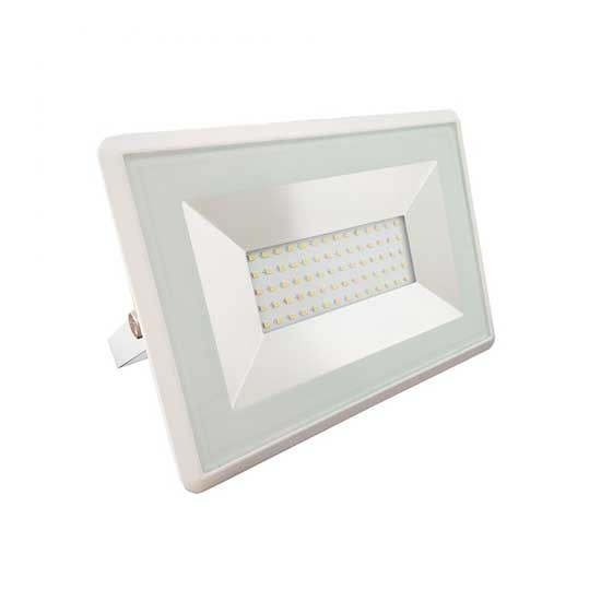 V-TAC VT-4051 FARO LED SMD 50W BIANCO FREDDO 6500K E-SERIES ULTRA SLIM BIANCO IP65 1
