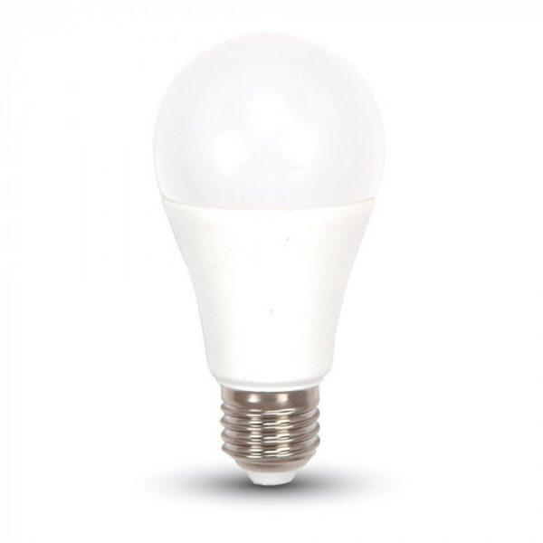 vtac 7351 v tac vt 2112 lampadina led smd 11w e27 a60 bianco freddo 6400k sku 7351 549