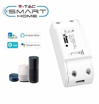 vtac 8422 v tac smart home vt 5008 mini switch wi fi gestione remota da smartphone sku 8422 057