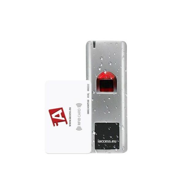 controllo accessi biometrico antivandalo iaccess m7 plus 2