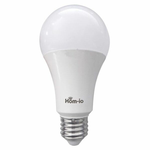 Lampada WIFI HOM-iO -10W-RGBW E27 - 1050LM - RGB+W2700K 1