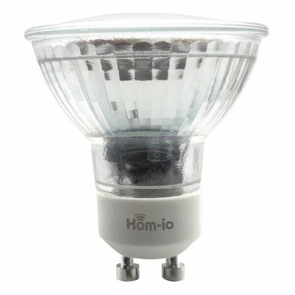 Faretto Smart WiFi GU10 Bianco Dinamico 4.5W 350 lm 110° - HOM-iO 1
