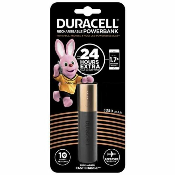 Duracell Power Bank DU110 3350 mAh 1