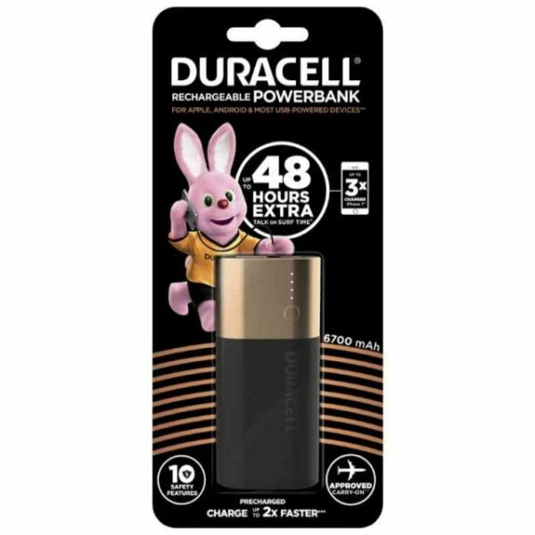 Duracell Power Bank DU111 6700 mAh 1